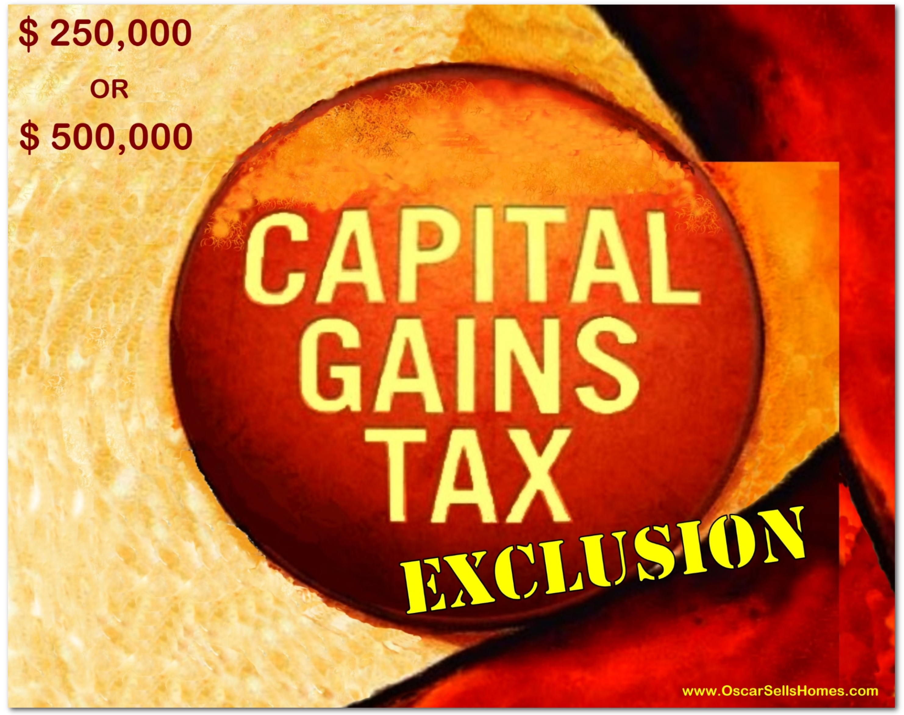 Sale of Home Capital Gains Tax Exclusion