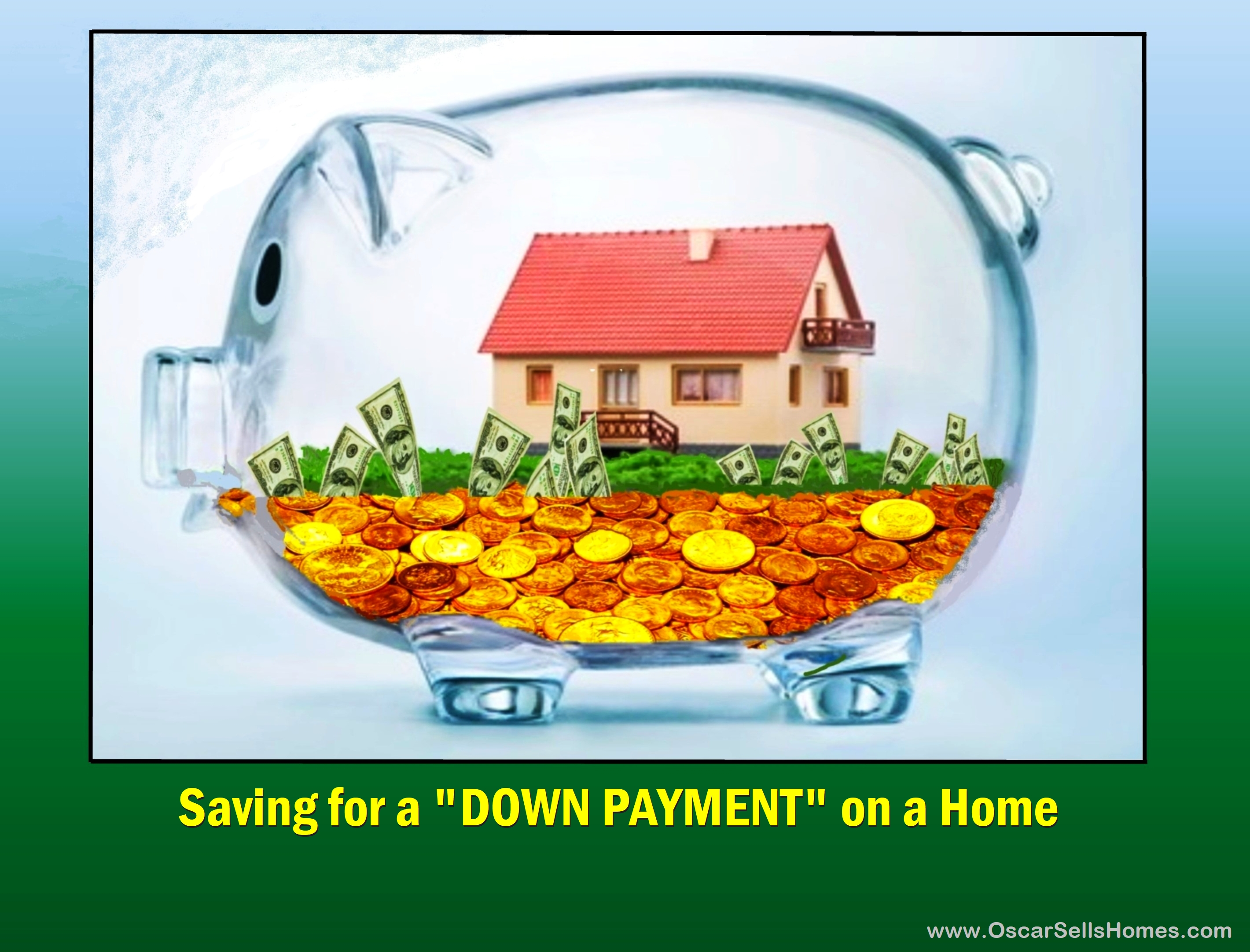 Saving for DOWN PAYMENT on a Home