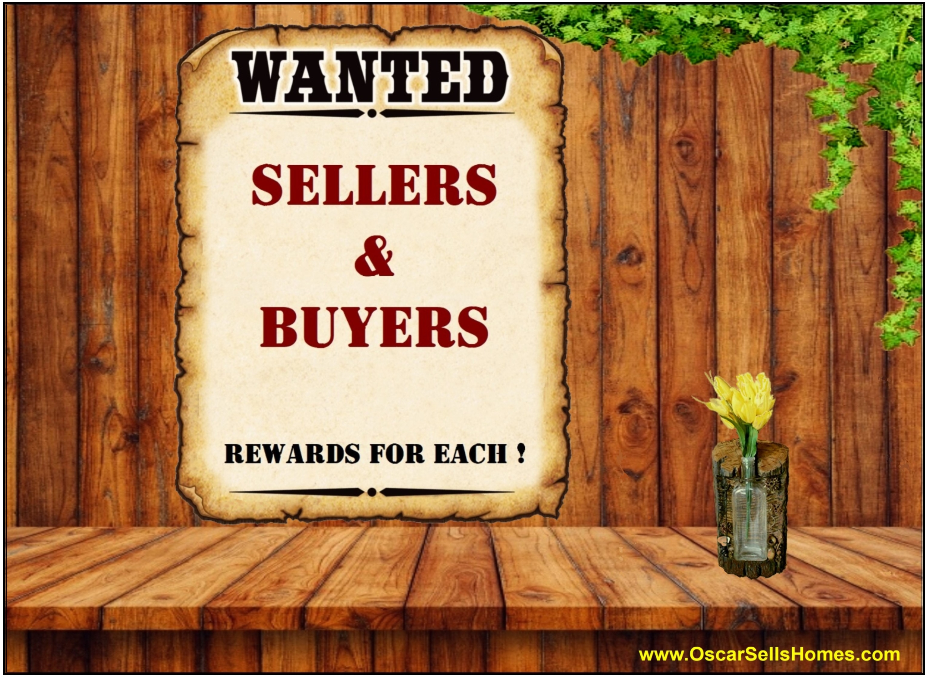 Home Sellers and Buyers wanted