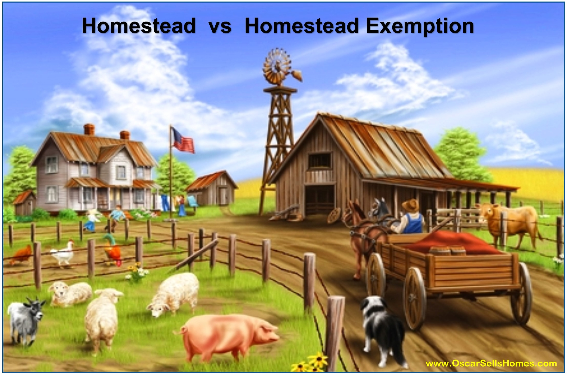 Homestead Exemption : Oscar Castillo - Broker Associate (858)775-1057
