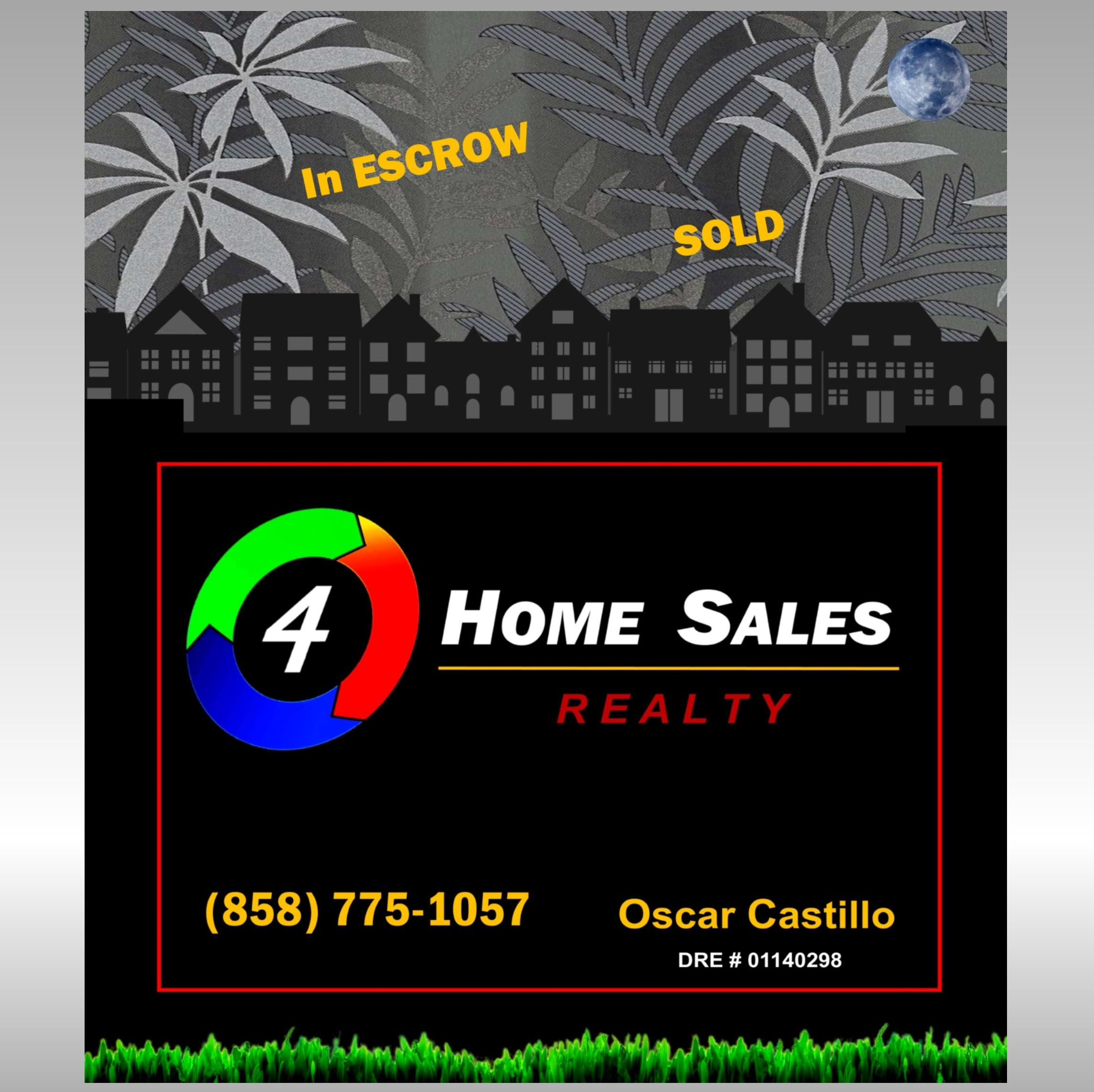 For Sale-In Escrow-SOLD