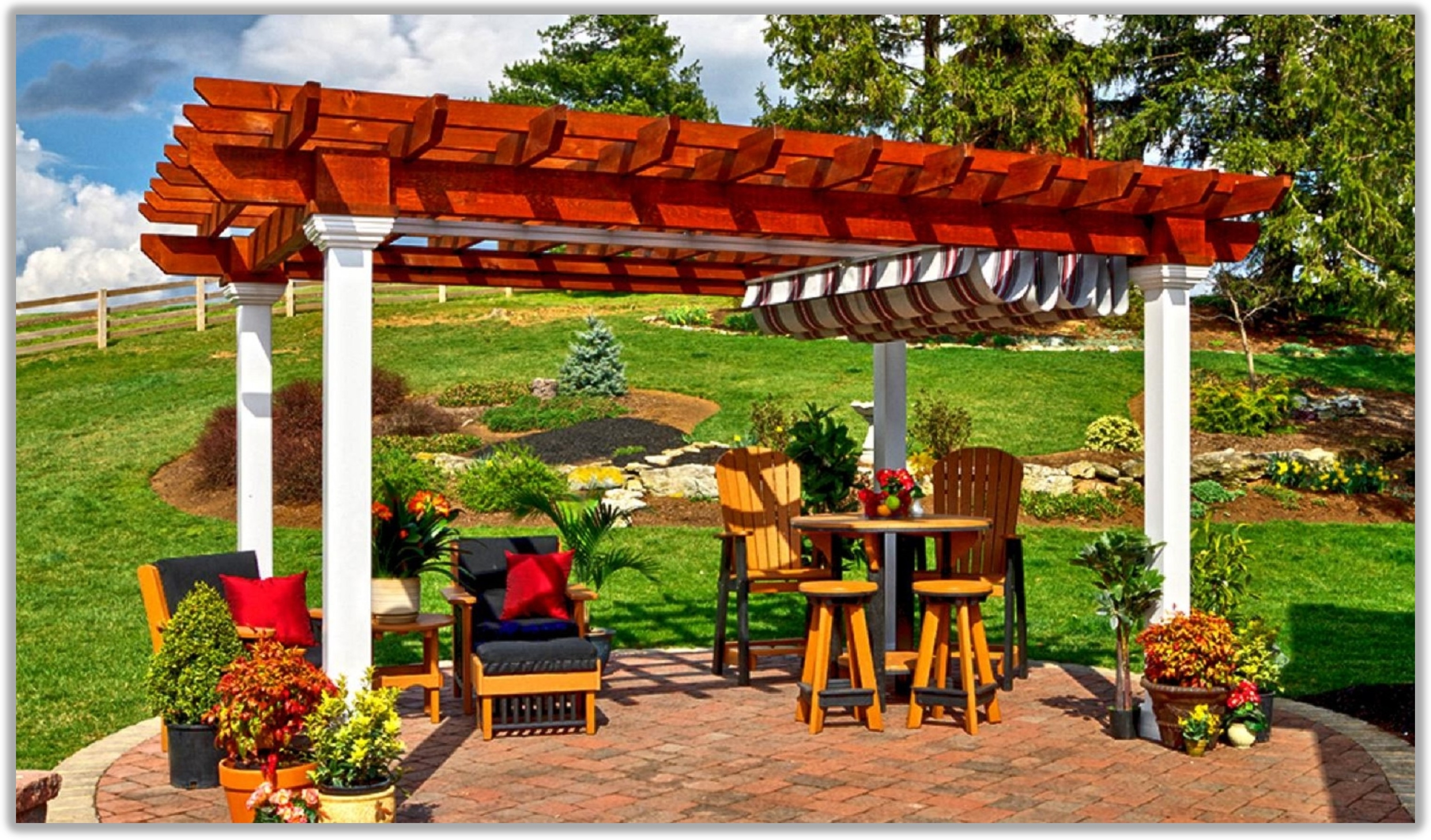 Building a Pergola? Try using Pressure Treated Wood