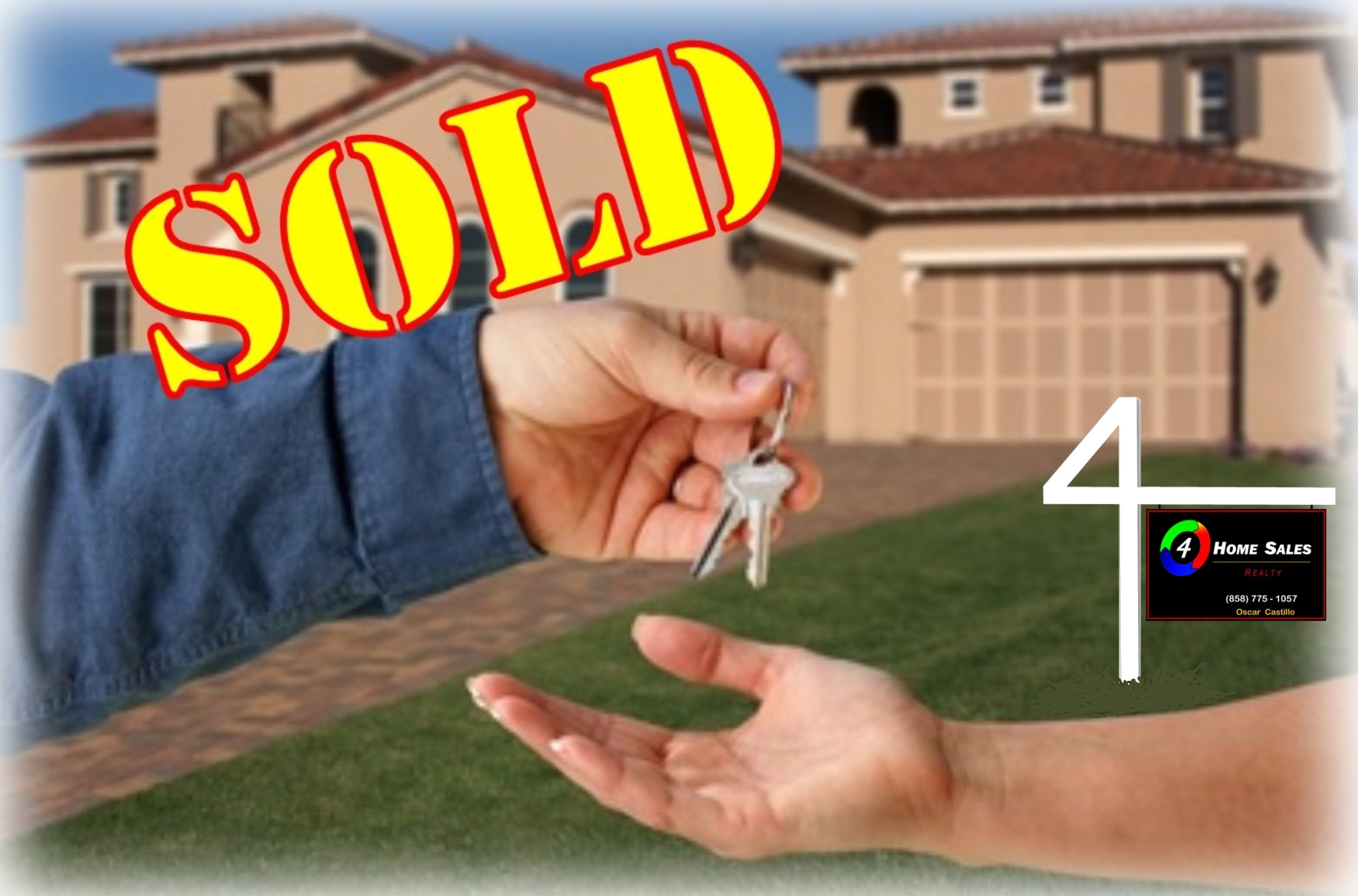 SOLD:  4 HOMES SALES - Realty  (858)775-1057