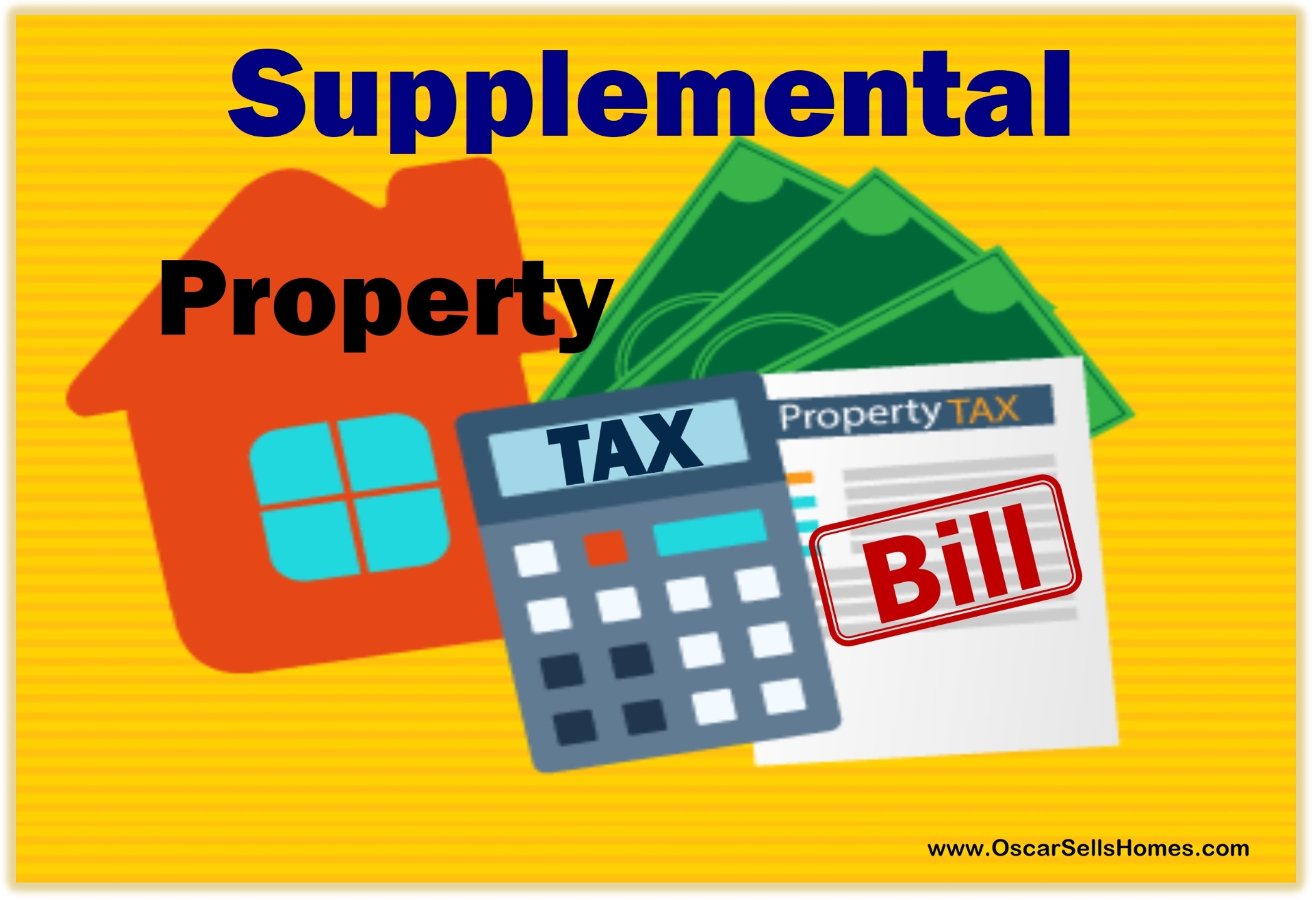 Supplemental Property Tax Bill
