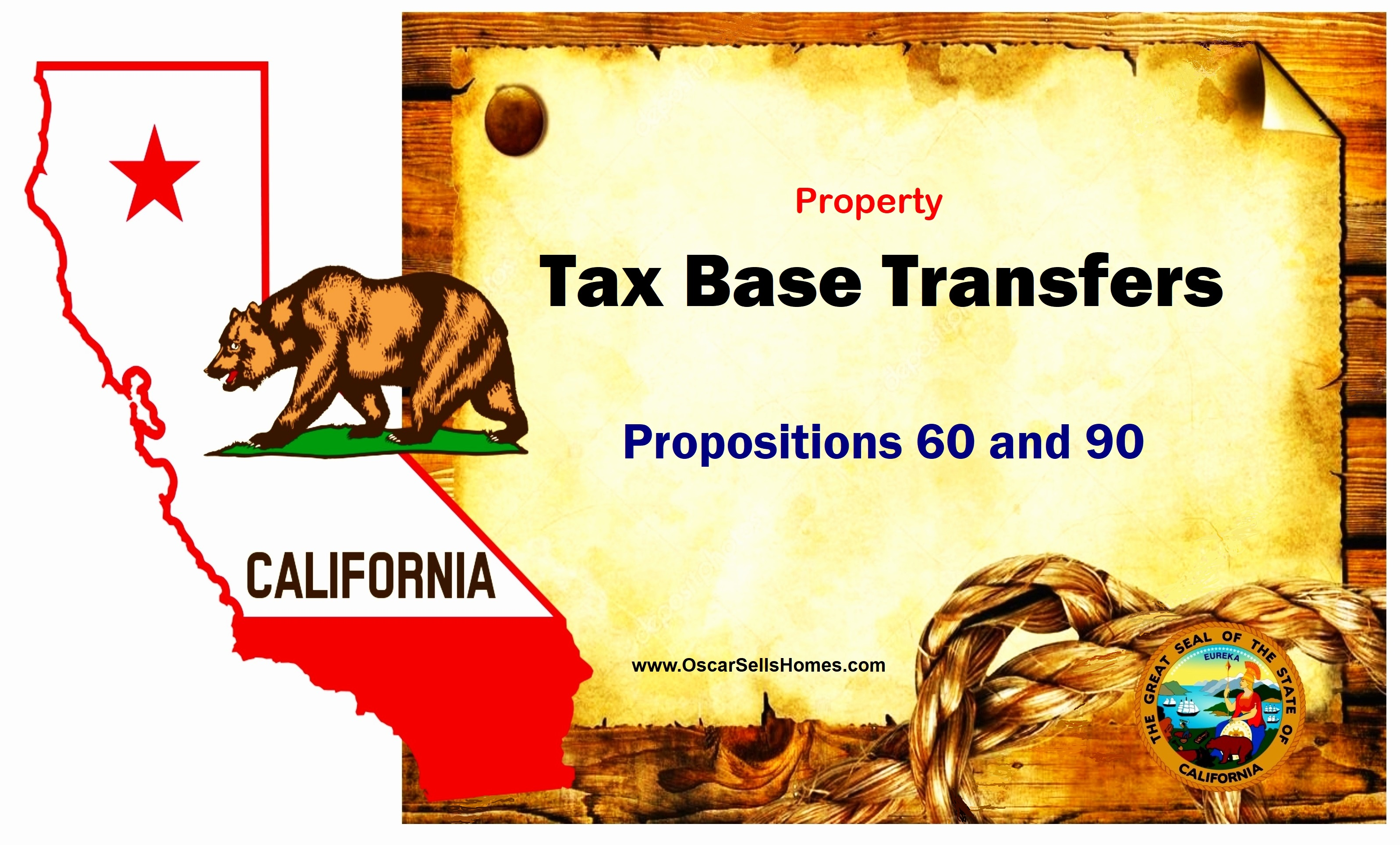 Tax Base Transfers - Prop 60 & Prop 90 California.. Oscar Castillo: Broker Associate (858) 775-1057