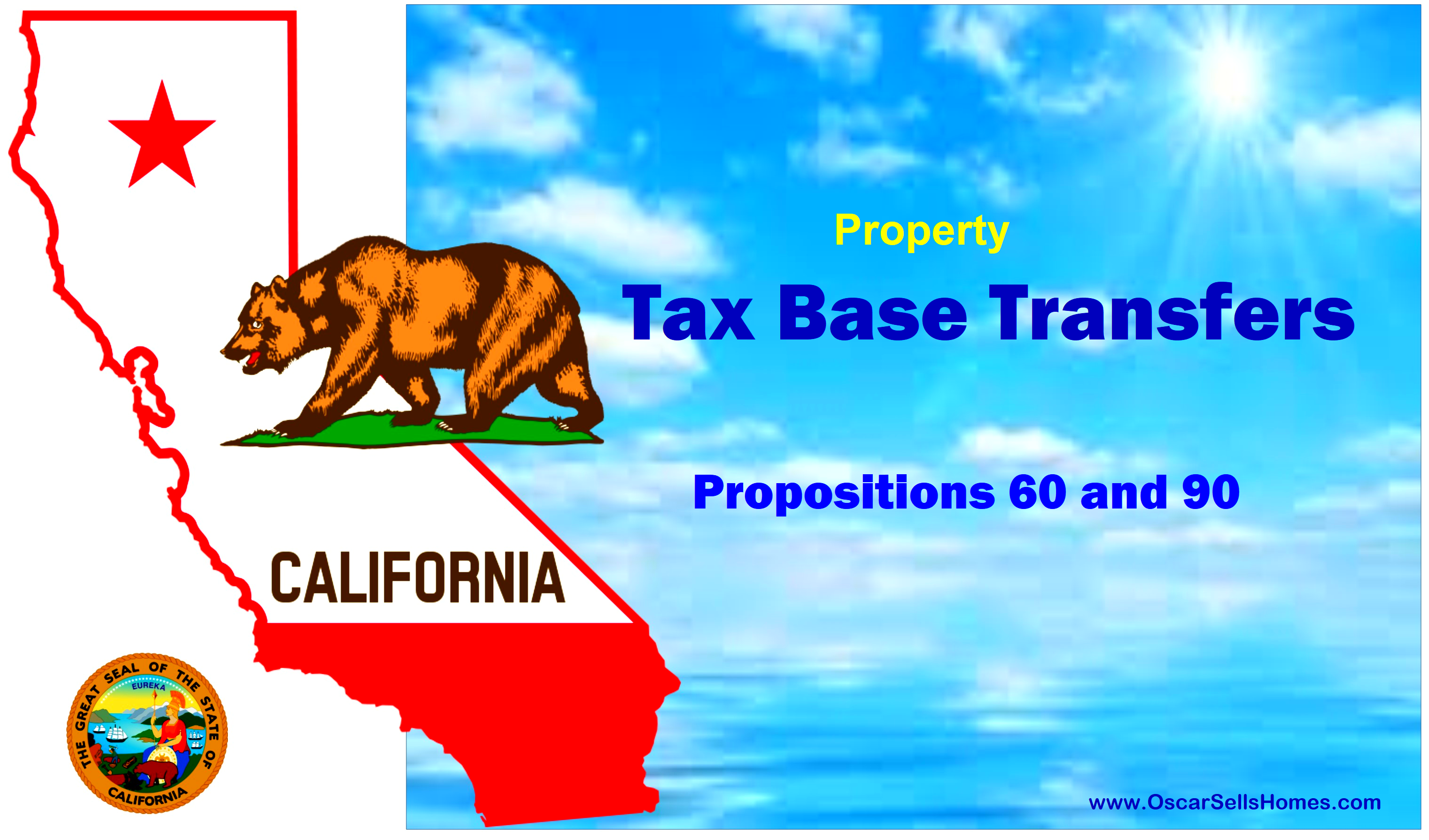 Tax Base Transfers - CA Propositions 60 and 90 : Oscar Castillo - Broker Associate (858) 775-1057