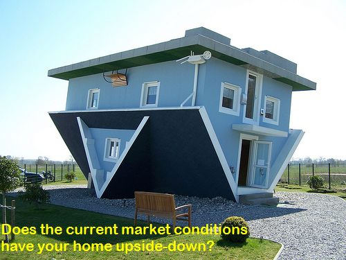 Sign of current market conditions, upside down home: Oscar Castillo Short Sale Listing REALTOR/agent San Diego CA